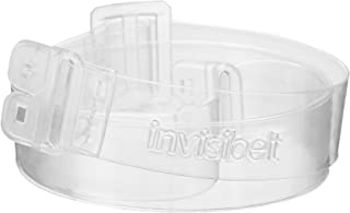 Invisibelt – No Show Women's Belt, Skinny Slimming Belt, Adjustable Flat Belt (Clear)