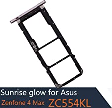2 Piece SIM Card Tray Holder Slot Replacement for Asus Zenfone 4 Max Dual SIM Card Tray Holder ZC554KL