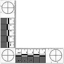 Forensics Source 6-3875 ABFO No. 2 Bitemark Scale