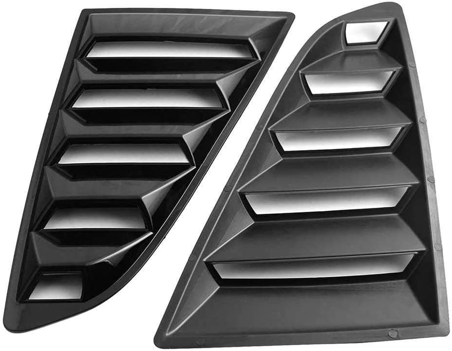 BEKwe Car Rear Window Triangle Blinds Mustang Fit Daily bargain sale for Baltimore Mall 2015- Ford