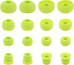 ALXCD Ear Tips for PB3 Powerbeats 3 Headphone, SML 3 Sizes 6 Pair Silicone Replacement Earbud Tips & 2 Pair Double Flange ...