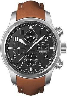 Fortis Reloj los Hombres Aeromaster Steel Automática Cronógrafo 656.10.10 L 08