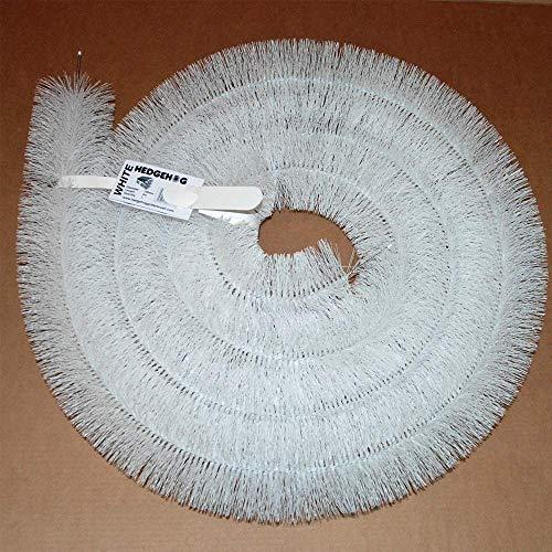 Truly PVC Hedgehog Gutter Clip Lot de 20 clips pour goutti/ères non recouvertes par les tuiles