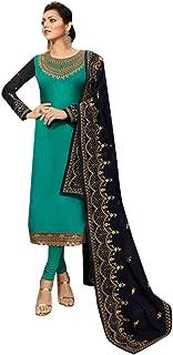 Indian Fashion Straight Dress Salwar Kameez Party Wear Indian Dress Ready to wear Salwar Suit