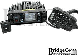 AnyTone AT-D578IIIPRO Tri-Band Amateur DMR Mobile Radio with Bluetooth, GPS, AnyTone Course on BridgeCom University ($97 Value), and BridgeCom Support