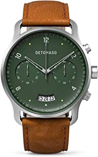 Sorpasso Men's Green Chronogrpah Watch with Date Display and Leather Strap…