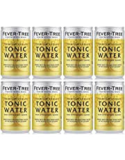 Fever-Tree Premium Indian Tonic Water in Cans, 8 x 150 ml