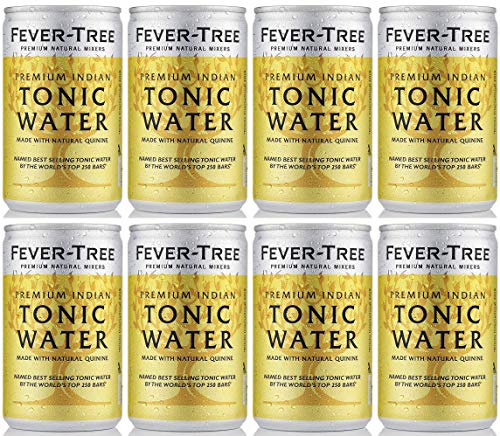 Fever Tree Premium Indian Tonic Water in Cans 8x150ml