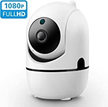 Isotect 1080p Wireless Security Camera with Night Vision/Two-Way Audio/Motion Detection,2.4Ghz WiFi Home Surveillance IP Camera for Baby/Pet/Nanny Monitor