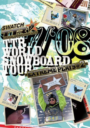 TTR WORLD SNOWBOARDING TOUR 07/08-EXTREME PLAYS#2- [DVD]