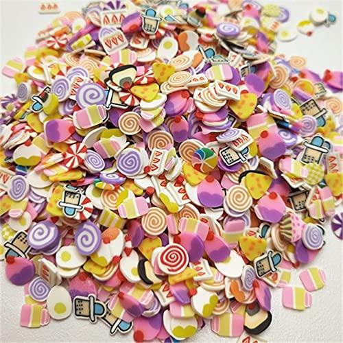 TGBN 500 Piezas Mezclados Accesorios de Bricolaje Flor Cuentas de Arcilla artesanías Flatback Scrapbooking Ajuste Herramienta de decoración de teléfono