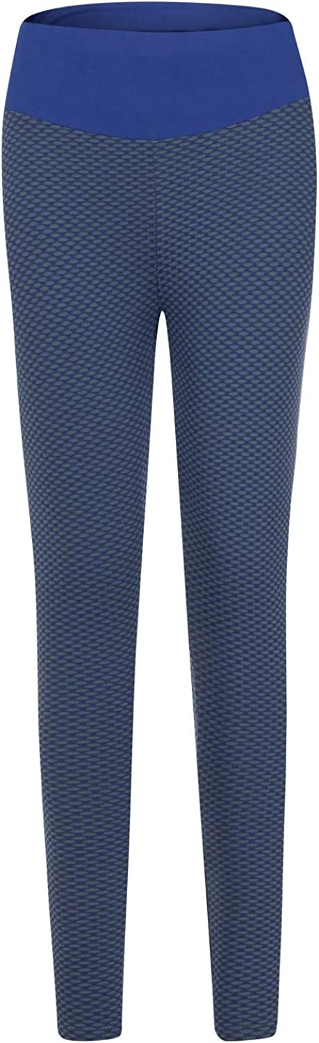 Hotkey Leggings for Women, High Waisted Tummy Control Yoga Pants Casual Running Active Pants Gym Sports Sweatpants Navy