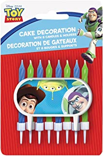 Toy Story Cake Topper & Birthday Candle Set