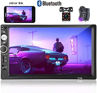 Hikity Double Din Car Stereo 7 Inch Touch Screen Car...