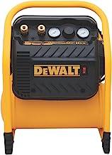 DEWALT Compressor de ar para acabamento, máximo de 200 PSI, operação silenciosa (DWFP55130)