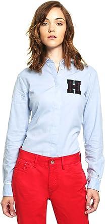 Tommy Hilfiger Camisa Manga Larga para Mujer