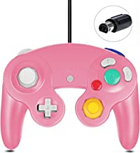 Pink Gamecube Controller Classic Wired for Nintendo Gamecube Wii