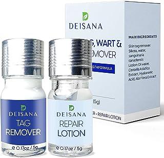 پاک کننده برچسب پوست ، ست ژل پاک کننده و ترمیم کننده خال ، درمان رفع برچسب پوست ، اصلاح کننده خال ، استفاده در منزل آسان