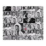 CafePress I Love Lucy Face Collage Soft Fleece Throw Blanket, 50'x60' Stadium Blanket