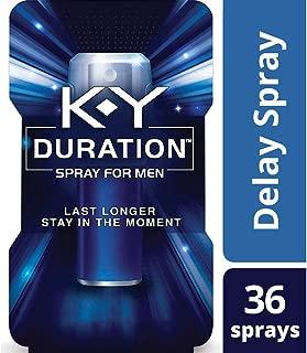 Duration Spray for Men, K-Y – Male Genital Desensitizer Spray to last longer,..