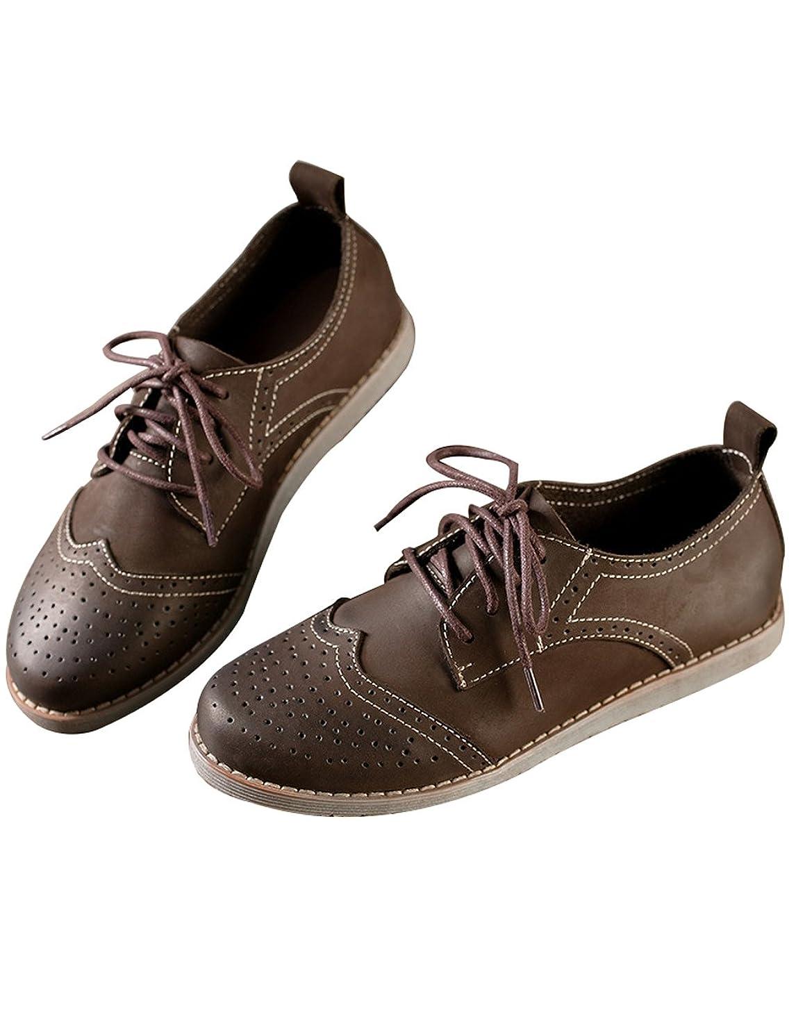 複数首謀者残り物[のグレープフルーツ プラム] レザー ローファー シューズ 革靴 靴 レディー 軽量 通気 滑り止め ドライビングシューズ 本革 レースアップ レディースモカシン