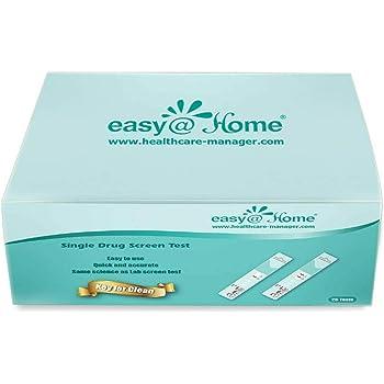 25 Pack Easy@home Single Panel Test Kit (THC) - #EDTH-114 Expires 5/25/21