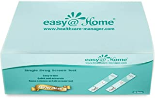 25 Pack Easy@home Marijuana (thc) Single Panel Drug Tests Kit – #EDTH-114…