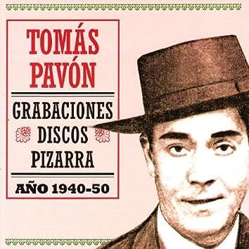 Grabaciones Discos Pizarra 1940 -50