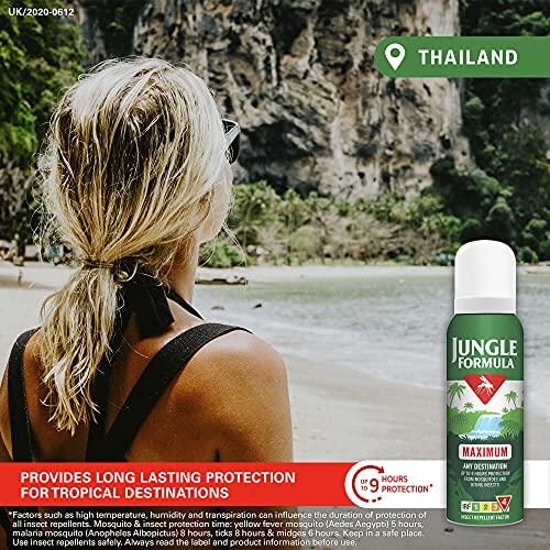 Jungle Formula Maximum Aerosol Insect Repellent, 125 ml 1 Units