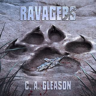 Ravagers audiobook cover art