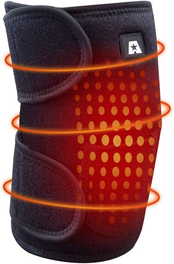 Heating Knee Pad ARRIS Heated Directly managed store Wrap Electric Brac Heat low-pricing