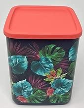 Fiambrera semicircular Color Rojo Tupperware dise/ño de Sirena