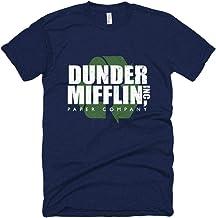 NBC The Office Dunder Mifflin Recycle Men`s Short Sleeve T-Shirt