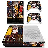 Vanknight Xbox One S Slim (XB1 S) Console 2 Controllers Remote Skin Set Vinyl Skin Decals Stickers Covers Wrap for XB1 S Skin