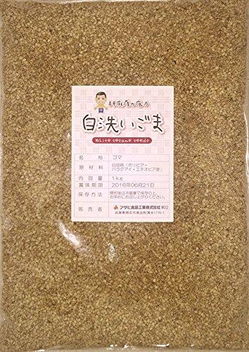 アサヒ食品工業『胡麻屋の底力香る白洗いごま』