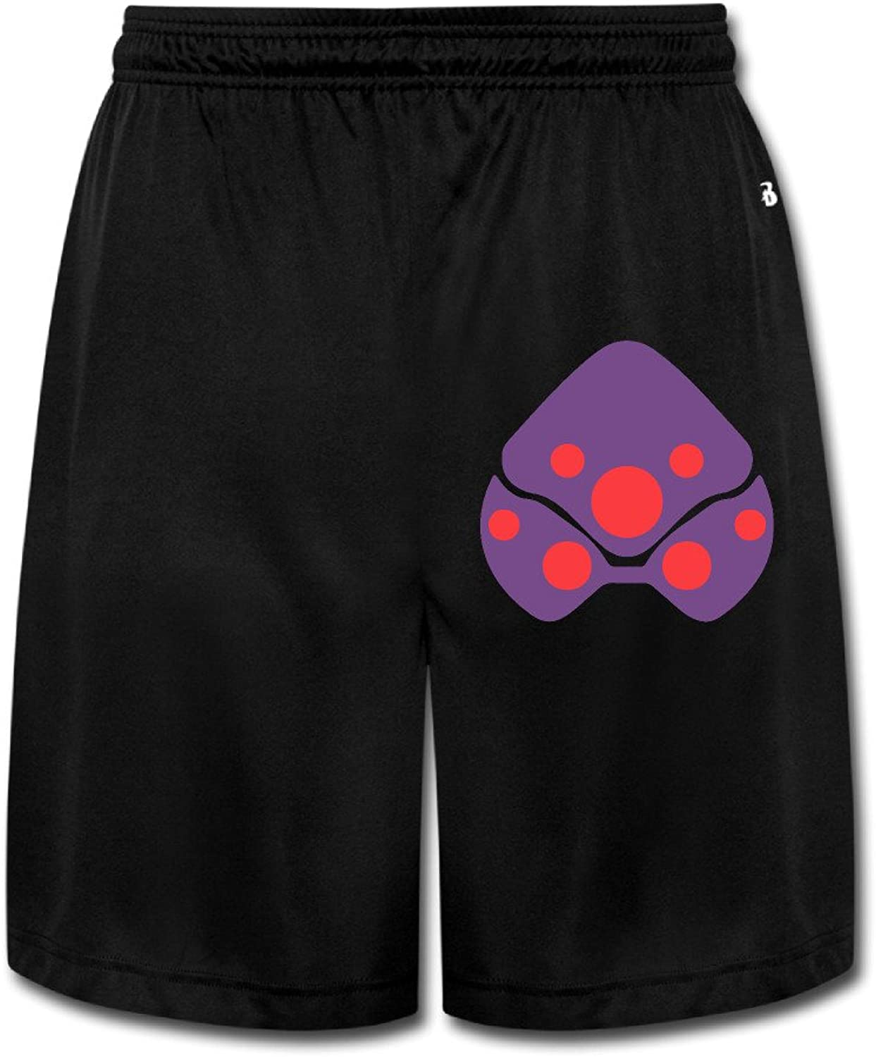 OW Infra Sight Assassin Head Men's Shorts Sweatpants 100% Cotton Black