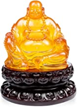 Buddha Statue Decoration Chinese Happy Maitreya Buddha Statue Sculptures Handmade Crafts Home Decoration Lucky Gifts Laugh...