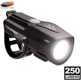Cygolite ZOT-250-USB Rechargeable Bike Headlight