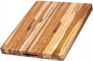 "TeakHaus by Proteak Edge Grain Carving Board w/Hand Grip (Rectangle) | 20"" x 15"" x 1.5"""