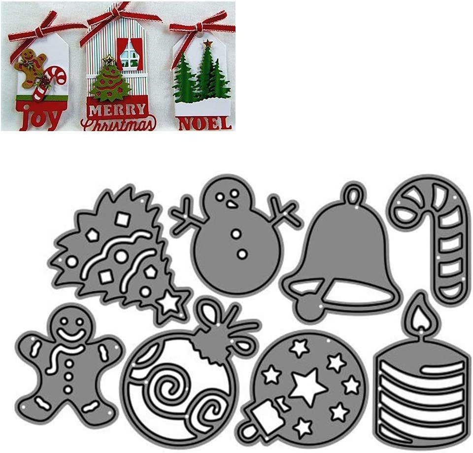 OonlyoO Christmas Carbon Topics on TV Steel Cutting Dies C Die for Cuts Craft 2021 spring and summer new