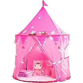 folding up ultimate pop up castle tent