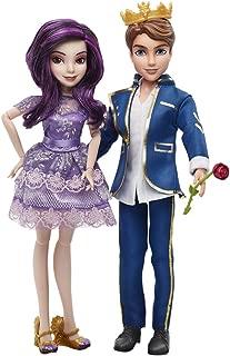 Disney Descendants Two-Pack Mal Isle of the Lost and Ben Auradon Prep Dolls by Disney Descendants