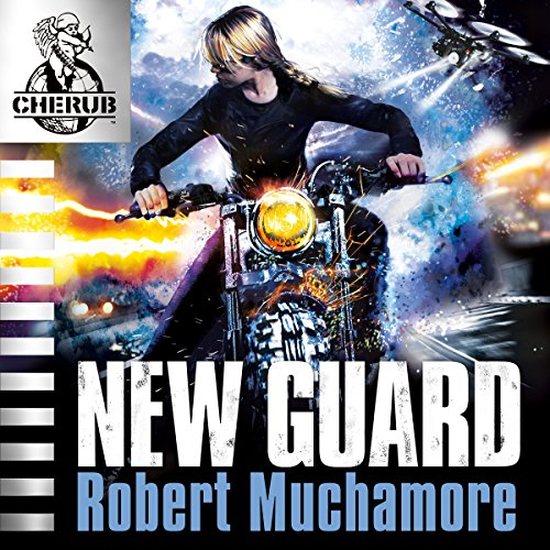 Cherub: New Guard audiobook cover art