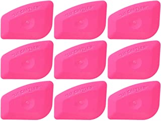 SYTASOO Multilateral Auto Stickers Decals Kitchen Home Office Car Wrapping Squeegee Lil' CHIZLER Scraper (Pink)-9PCS