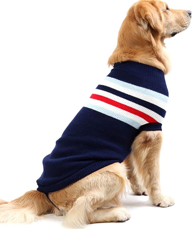 Alfie Pet  Keats Cable Knit Sweater  color  Navy, Size  XL