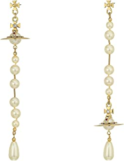 Vivienne Westwood - Broken Pearl Earrings