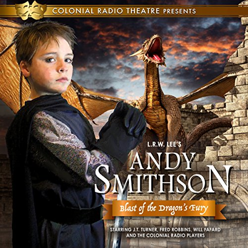 Andy Smithson: Blast of the Dragon's Fury audiobook cover art