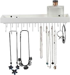 MK208 - Hanging Jewelry Organizer (White)
