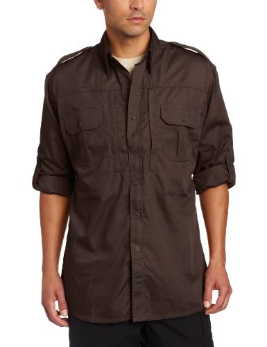 Propper T-Shirt à Manches Longues pour Homme, Homme, F5312, Sheriff Brown, m