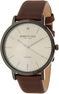 Kenneth Cole Casual Watch For Men Analog Leather - KCC0120003